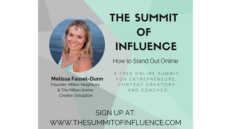 Summit of Influence: Melissa chats with Dominique Anders about Facebook groups