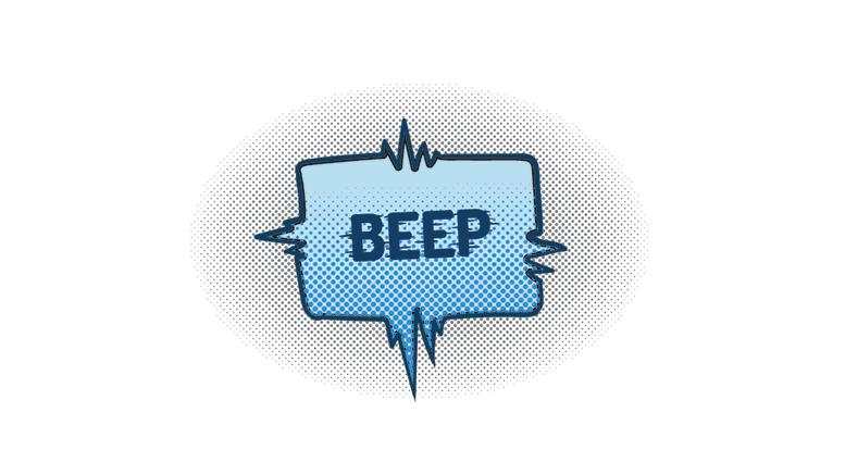 beep alert posts