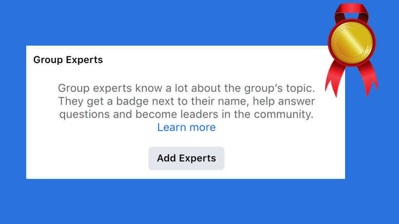 Facebook group experts – what are they and why use them?