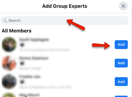 how to add a facebook group expert