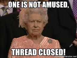 thread closed facebook meme queen