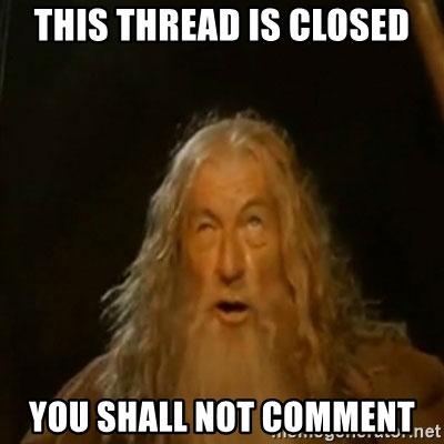 thread closed facebook meme